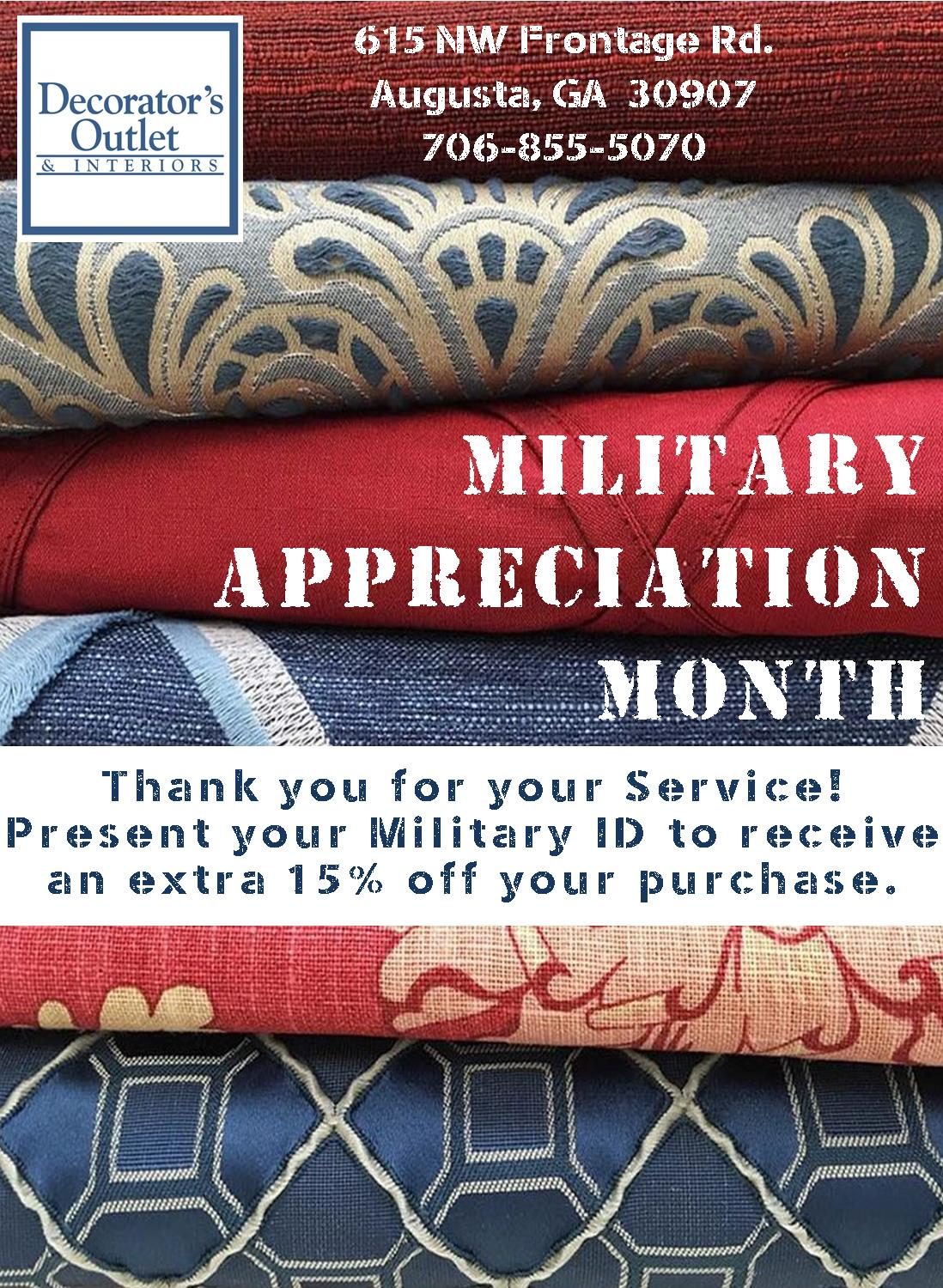 August Military Ad | Home