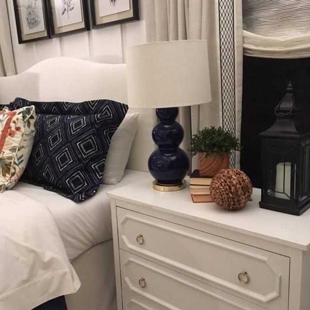 Navy Bedroom | Custom Products