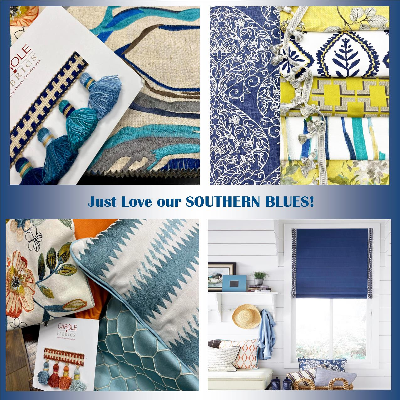 Southern blues | Inspiration Board